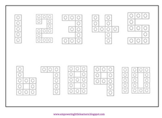 Make numbers with math cubes! Simply Centers: k-2 Math