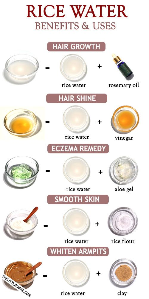 Rice water beauty benefits, recipe and uses