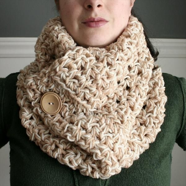 Beautiful Free Crochet Cowl Scarves Pattern   DIY and Crafts ...