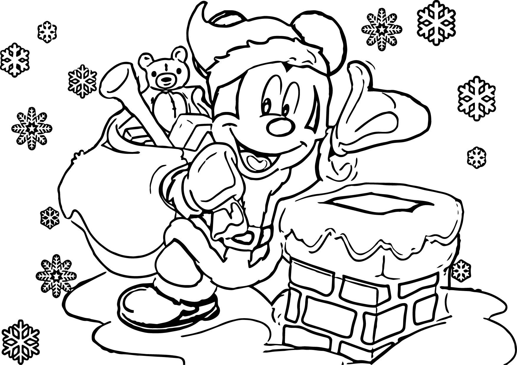 Disney Christmas Coloring Pages | Disney coloring pages ...