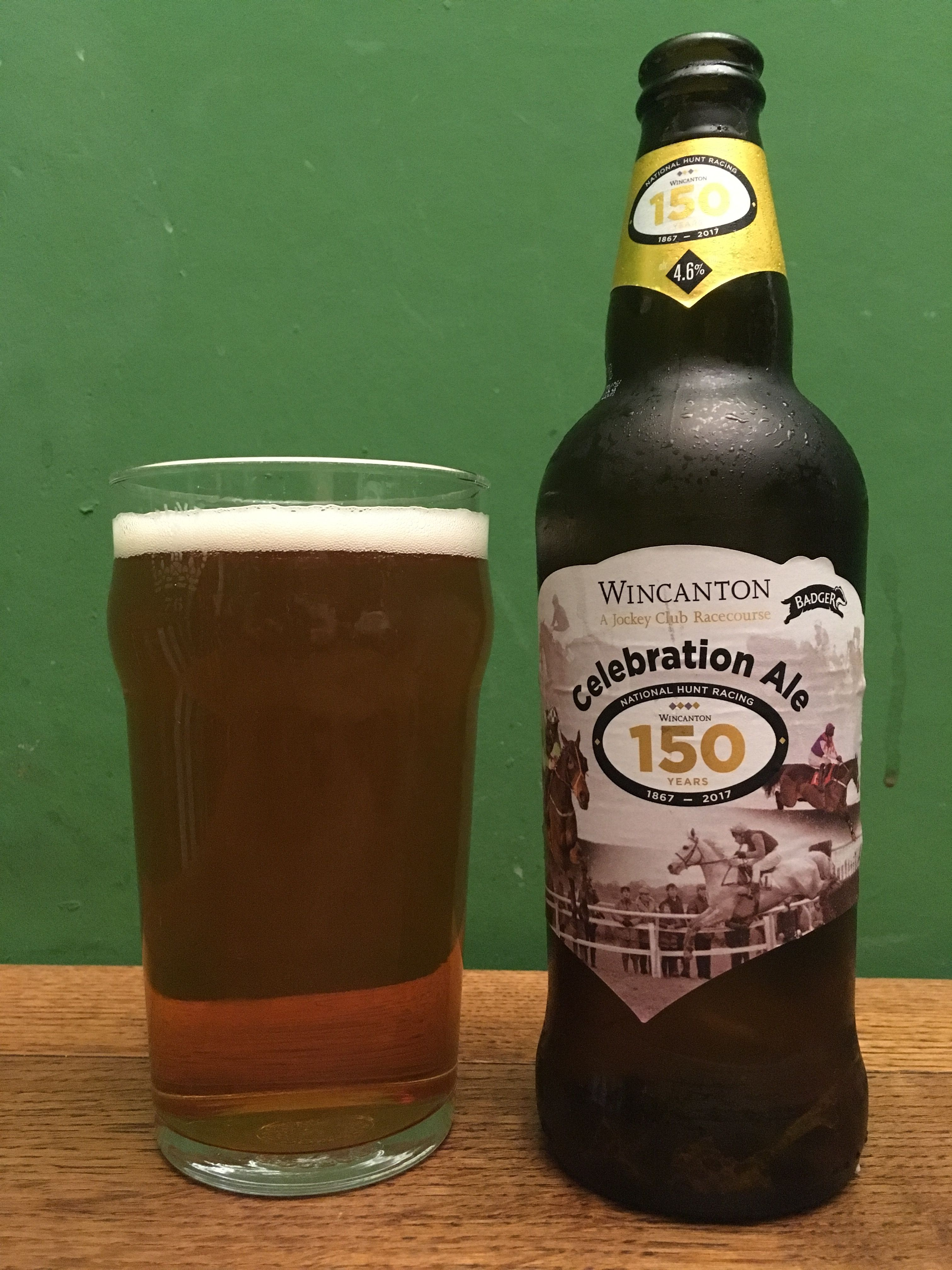 Wincanton Celebration Ale By Badger Brewery In Dorset Uk Nice