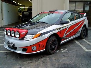 Saturn Ion Rally Car
