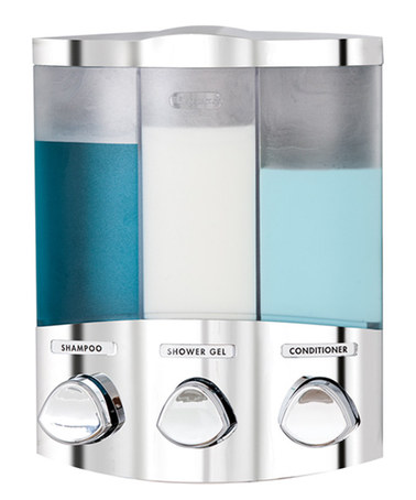 This Chrome Trio Euro Dispenser By Better Living This Sleek Unit
