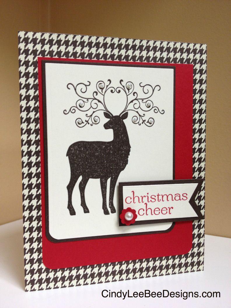 SU Christmas Deer with Christmas Cheer Christmas deer