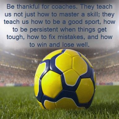 Day 7: Thankful for Coaches