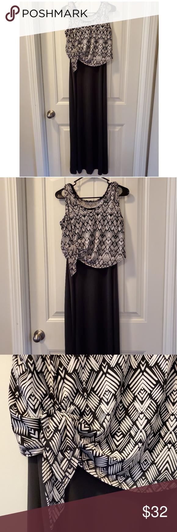 Karen Kane Maxi Dress Size M Euc Karen Kane Maxi Dress Karen Kane Dress [ 1740 x 580 Pixel ]