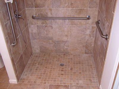 No Threshold Shower Enclosures Oversized Walk In