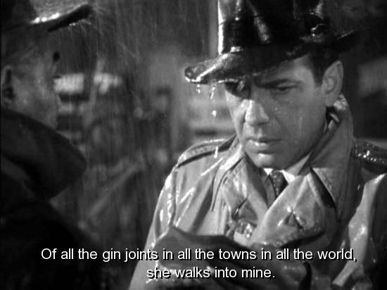 Casablanca Quotes quotes from casablanca | movie, casablanca, quotes, sayings, life  Casablanca Quotes