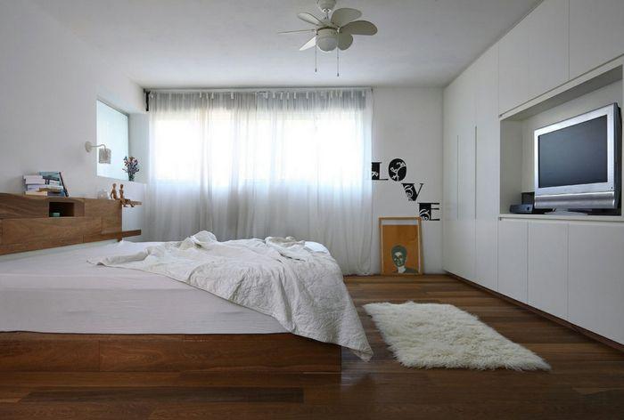 Schön Schlaf Gut Schlafzimmer Richtig Ausstatten Kleiner Fernseher Wanddeko  Gardinen