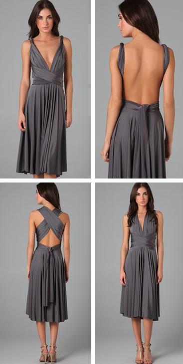 Twobirds Tea Length Convertible Dress. Wholesale Short Bridesmaid Dresses  ... f4851956e9ec