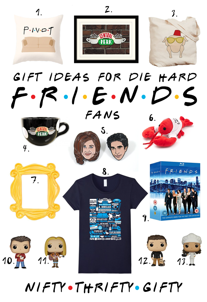 Friends Tv Show Gifts Fandom Gifts Fandom Gift Ideas Friends Tv