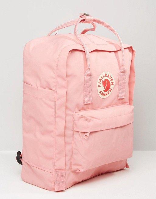 Mochila clásica rosa pastel Kanken de Fjallraven | ASOS #backpacks