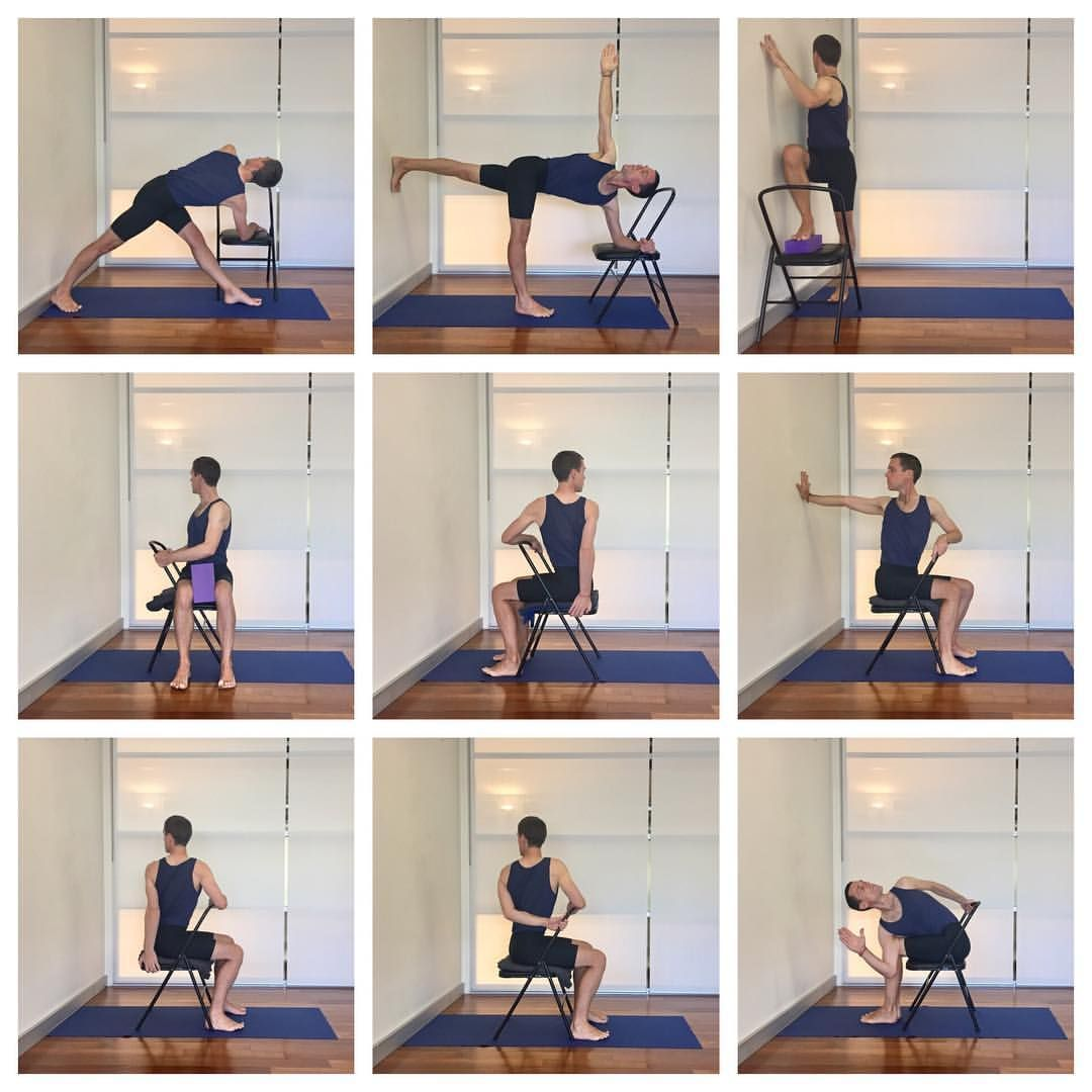 "Yoga Selection on Instagram ""Some chair twists to help improve your spine mobility and back health  These poses are part of the upcoming intermediate class on…"" is part of Yoga - 143 Likes, 9 Comments  Yoga Selection (@yoga selection) on Instagram ""Some chair twists to help improve your spine mobility and back health  These poses are part of the…"""