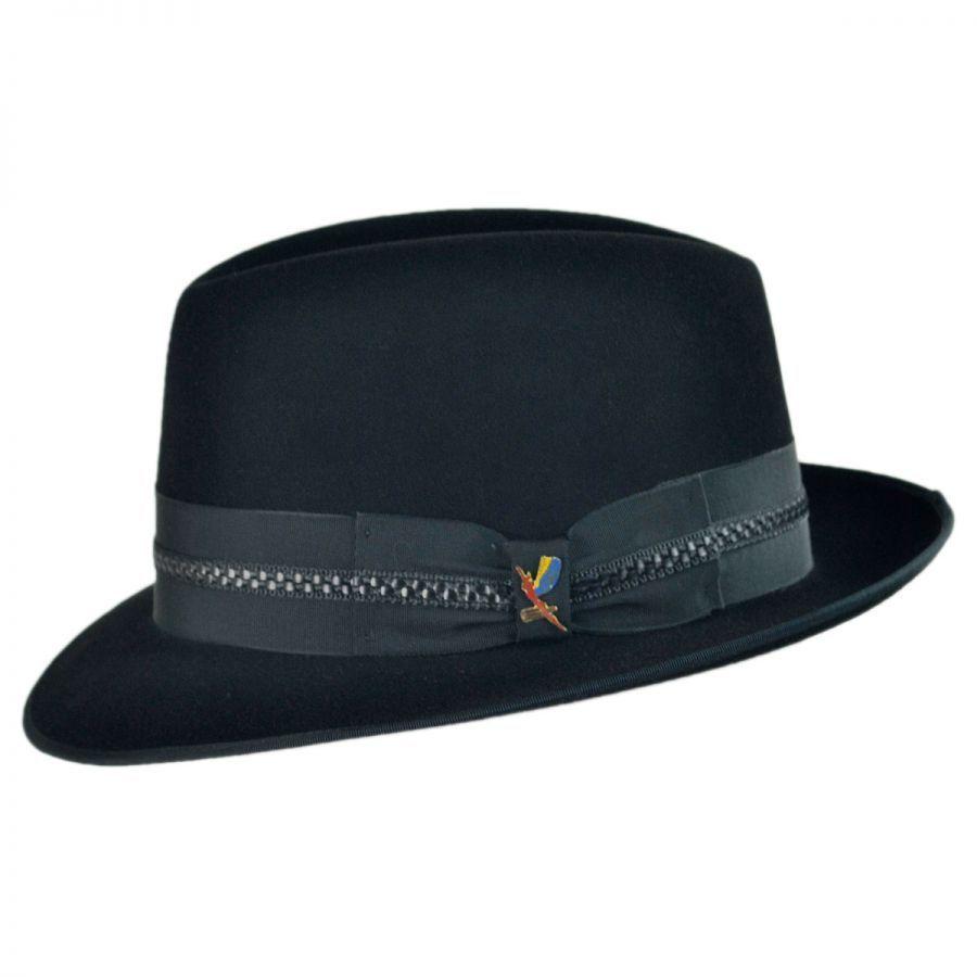 1b91fc182 Carlos Santana Essential Fur Felt Fedora Hat All Fedoras   Favorite ...