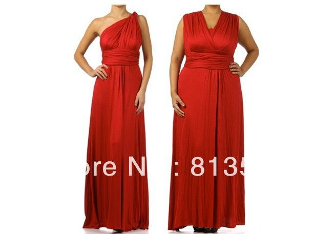 c3a911b748 Maxi Dress Free Shipping Cheapest Jersey Multi Way Wraps Red ...