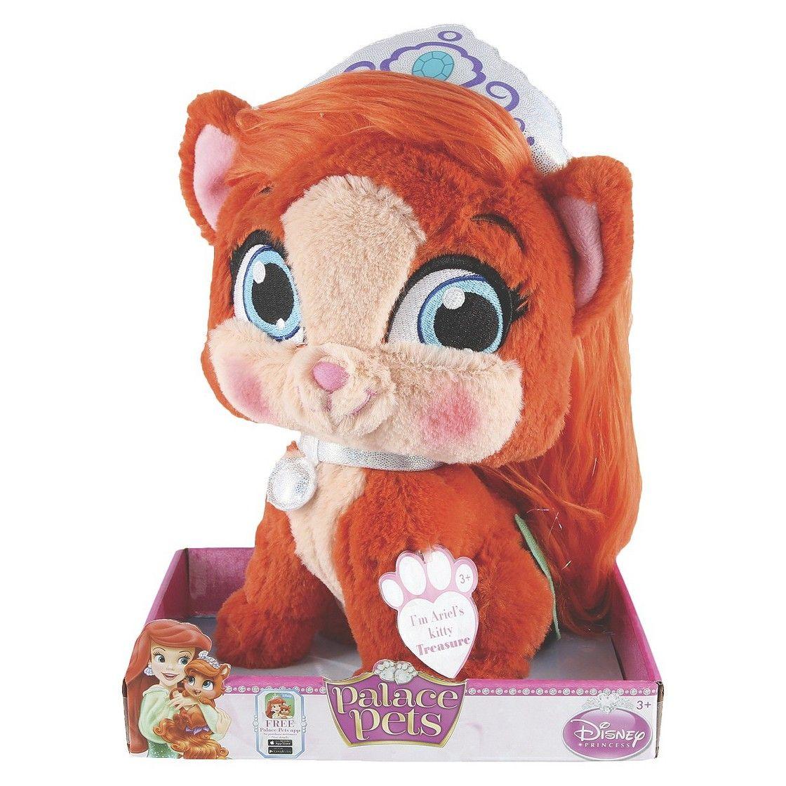 Disney Princess Palace Pets Ariel S Kitty Treasure Large Plush Toy Palace Pets Large Plush Toys Disney Princess Palace Pets