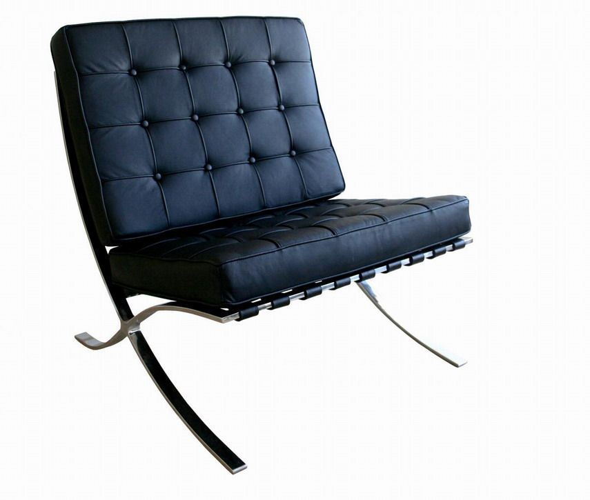 Exposition Famous Design Black Leather Chair In 2020 Classic