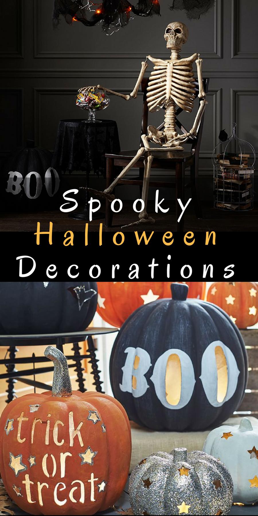 Spooky Halloween Decorations Pumpkin Luminaries Mr
