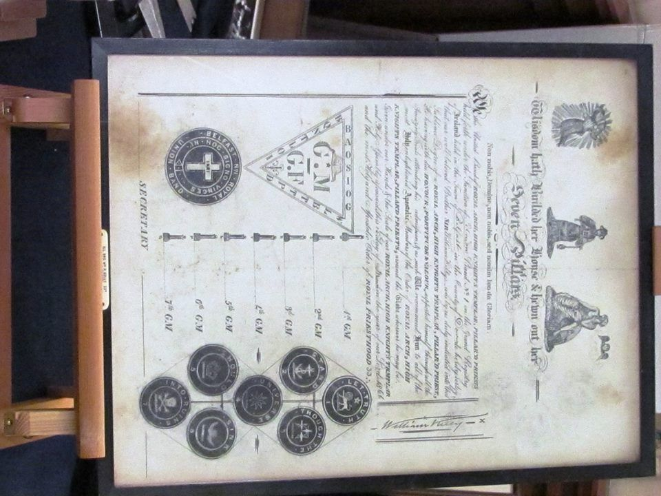 Here is a copy certificate used by The Pillared Priests of Ireland - copy certificate picture
