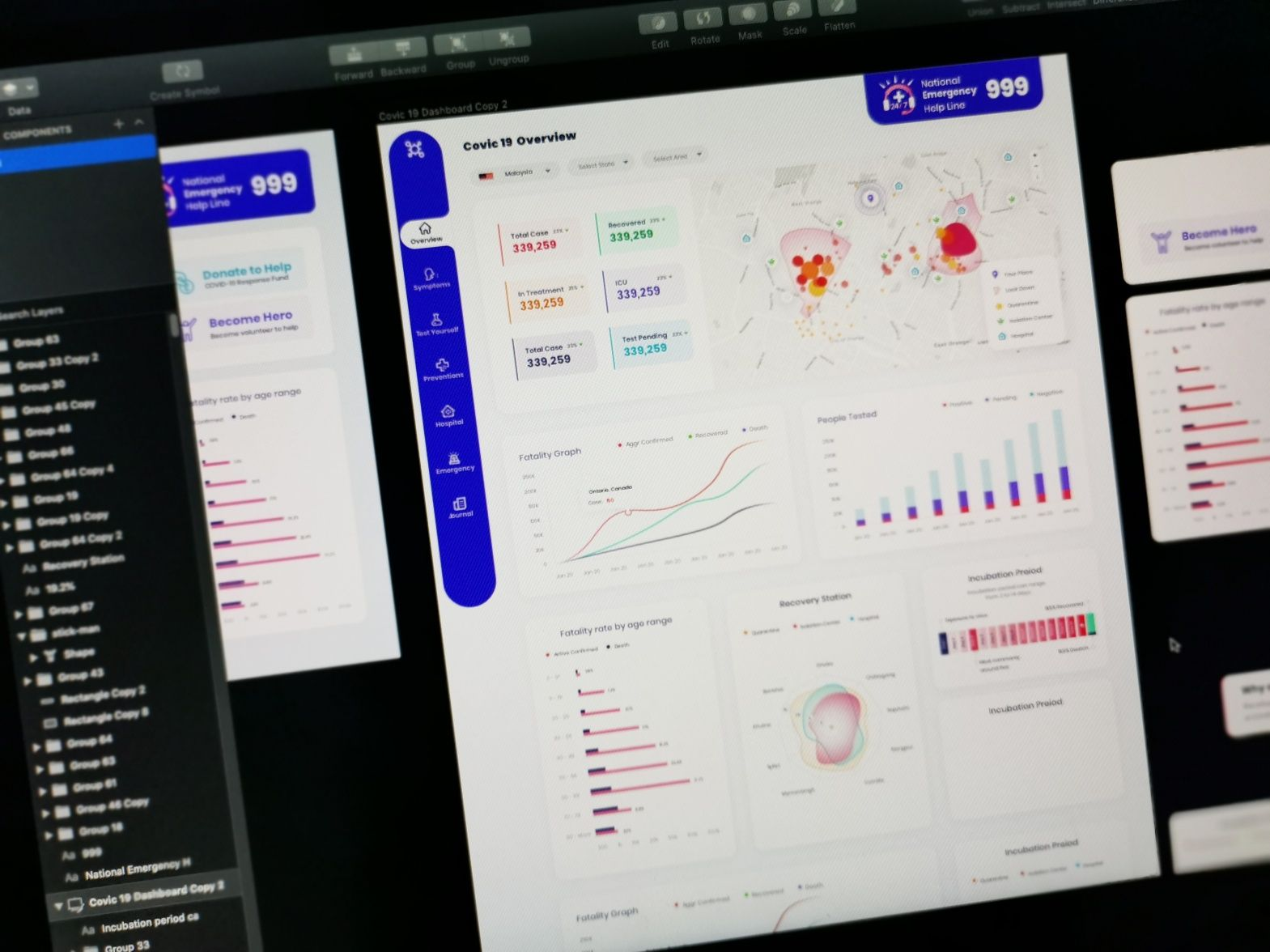Project Corona Wip In 2020 Web Trends Web Layout Web Layout Design