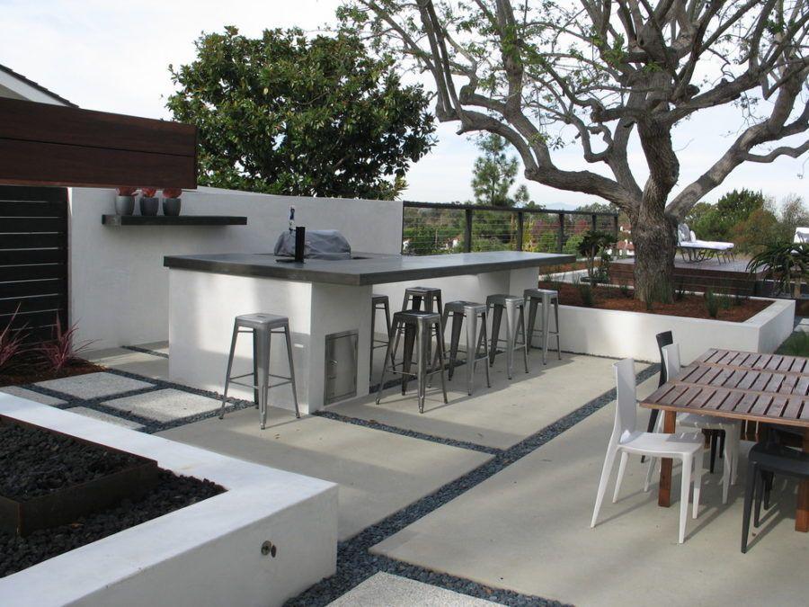 20 Modern Outdoor Bar Ideas To Entertain With Modern Outdoor