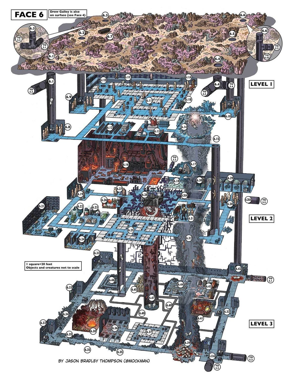 Pin by MySyFyBooks on D&D Maps Fantasy map, Dungeon maps