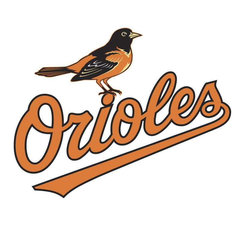Baltimore Orioles Logo Vinyl Decal Free Shipping Many Sizes Available By Thestarfishhouse On Etsy Orioles Logo Baseball Vinyl Decal All Mlb Teams
