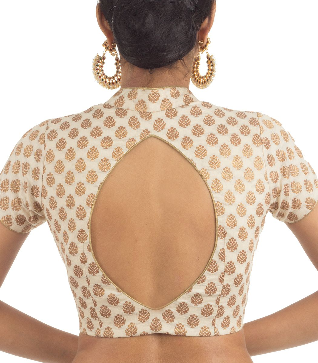 Khaddi brocade designer blouse bl indian silk house agencies also rh pinterest