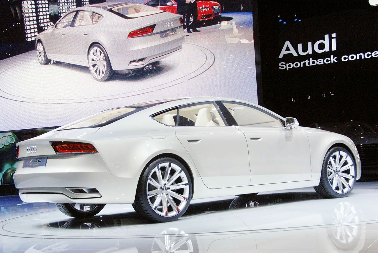 audi a7 audi a7 sportback concept luxury cars. Black Bedroom Furniture Sets. Home Design Ideas