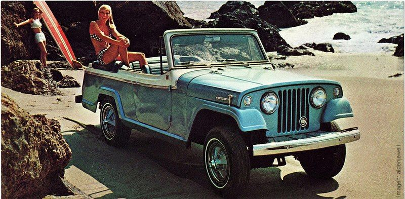 Jeepster Commando Was Built To Perform Jeep Convertible Vida
