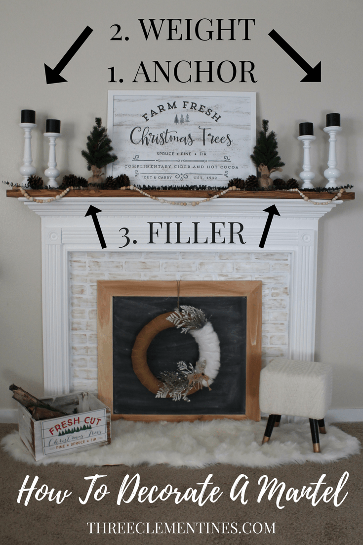Make Your Own Set of 4 DECORATIVE TREES Mantle Decor and Farmhouse Decor! Great for Table-Scapes