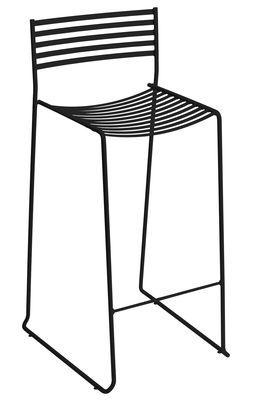 Aero Bar chair - Metal - H 64 cm Black by Emu - Design furniture ...
