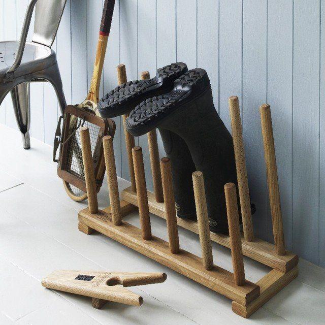 6 diy wooden boot rack boot organizer horse stuff diy shoe rack boot rack boot organization. Black Bedroom Furniture Sets. Home Design Ideas