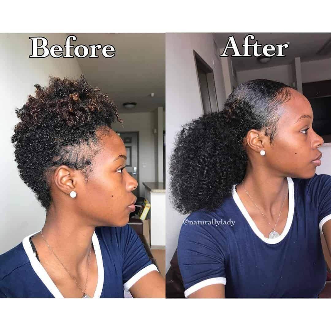 corkscrew curls weave - 3c 4a hair