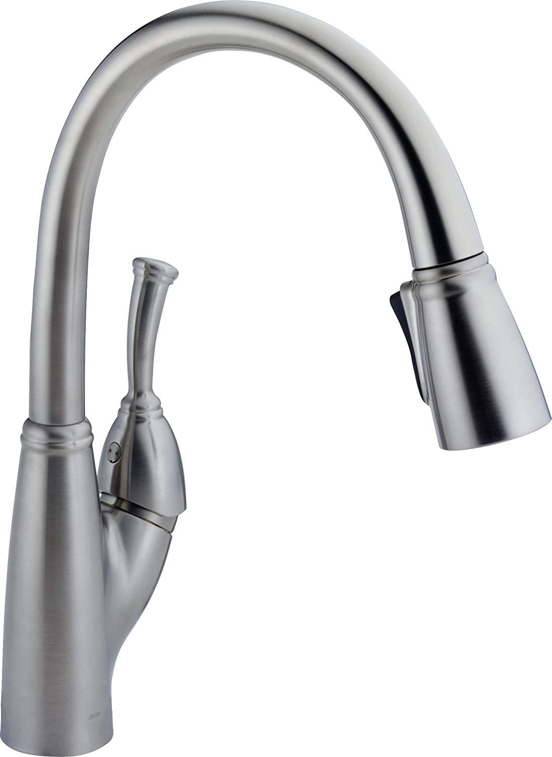 Delta Faucet Allora Single Handle Kitchen Sink Faucet With Pull
