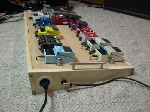 diy pedal board from scraps build it in 2019. Black Bedroom Furniture Sets. Home Design Ideas