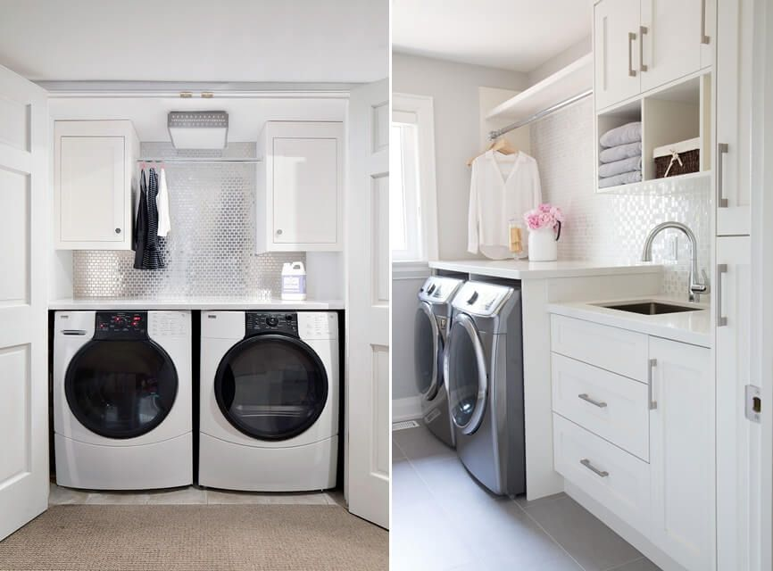 Decorparatodos Decor Designdeinteriores Lavanderia Lavanderiadecorada Inspiracaolavanderi Small Laundry Rooms Budget Laundry Room Makeover Laundry Design