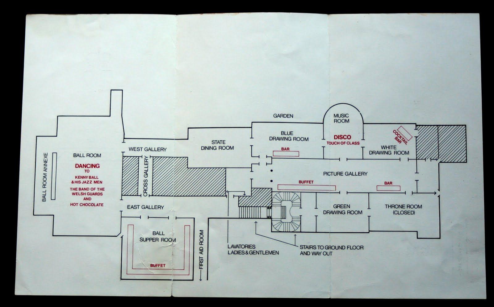State Room Map For Royal Wedding Buckingham Palace Buckingham Palace Architecture Plan State Room