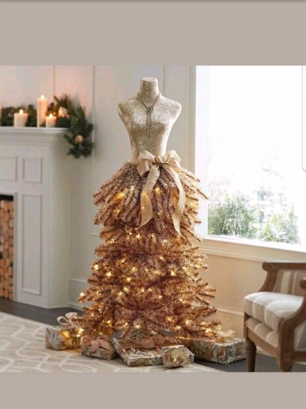 33++ Dress form christmas tree ideas