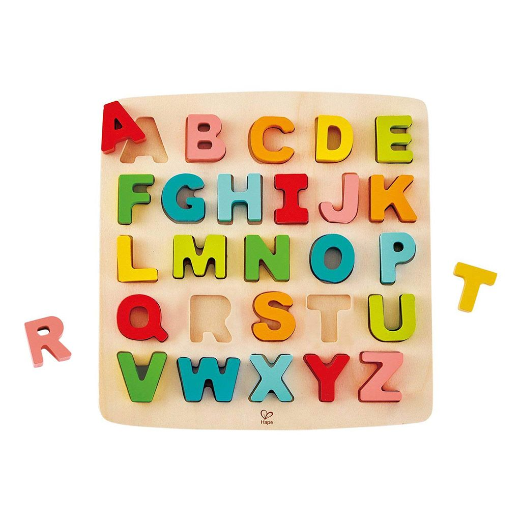 Hape Wooden Alphabet Puzzle Puzzles For Kids Hape Toys Wooden