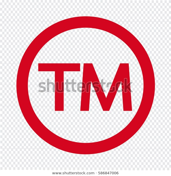 Trademark Symbol Icon Stock Vector (Royalty Free