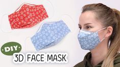 Photo of DIY FACE MASK No Sewing Machine | Make Fabric Face Mask at home | Easy Face Mask Pattern