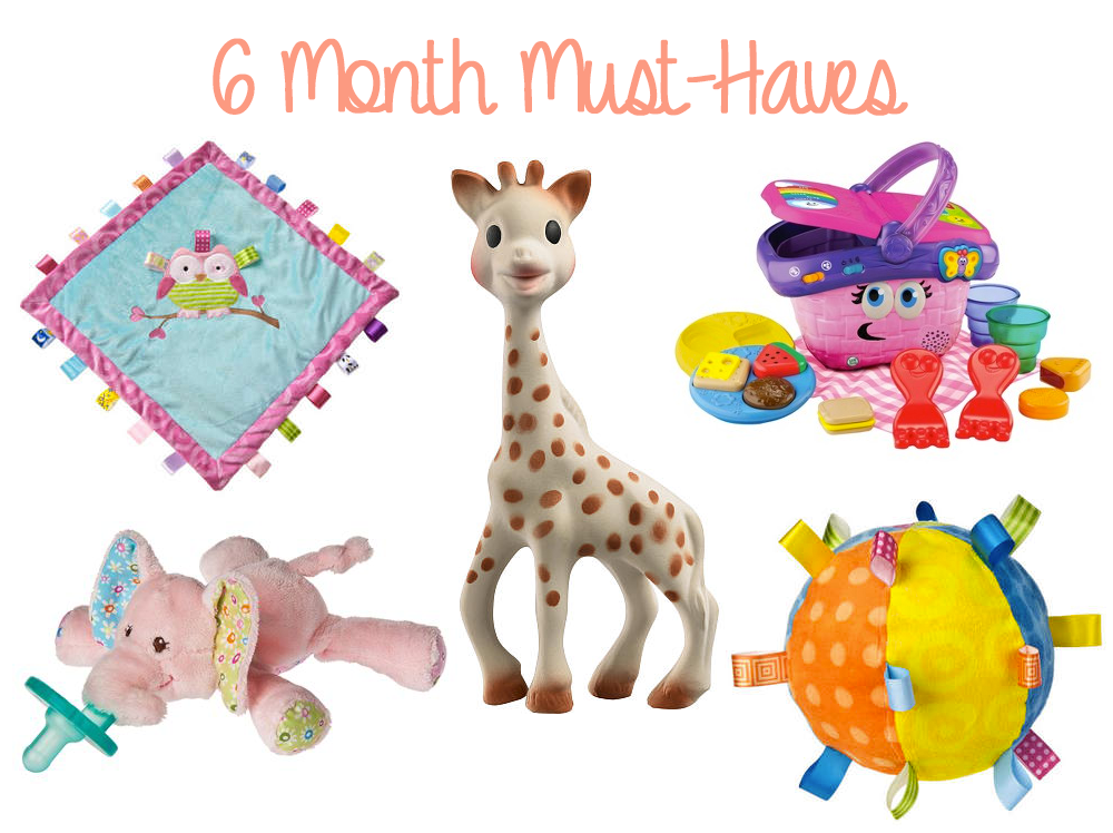 6 Month Must Haves Baby Pinterest Baby 6 Months And Best Baby