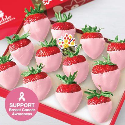 Edible Arrangements - Pink Chocolate Dipped Strawberries