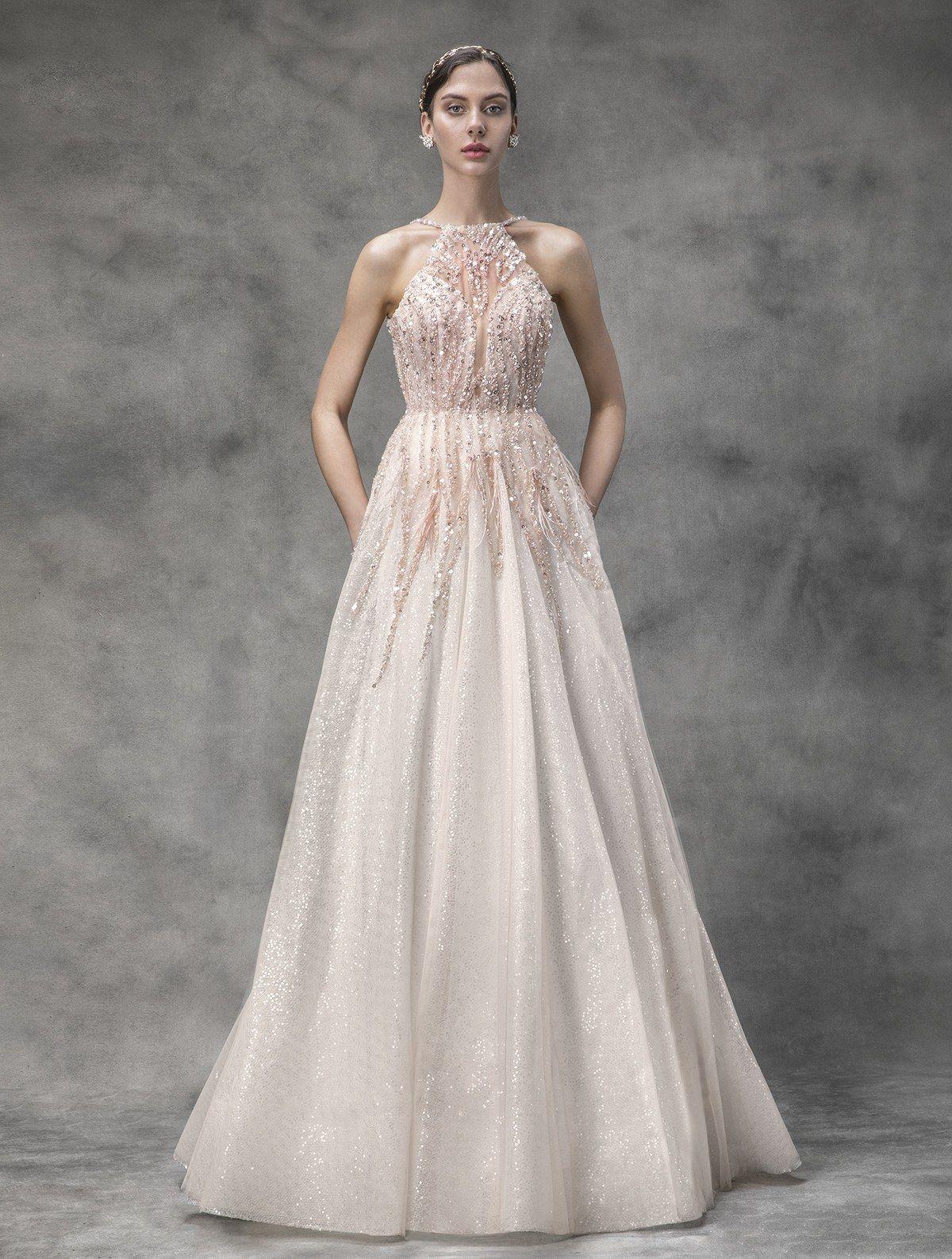 51c798f8c33c0 Victoria KyriaKides Bridal Spring 2020 in 2019 | Wedding gowns ...