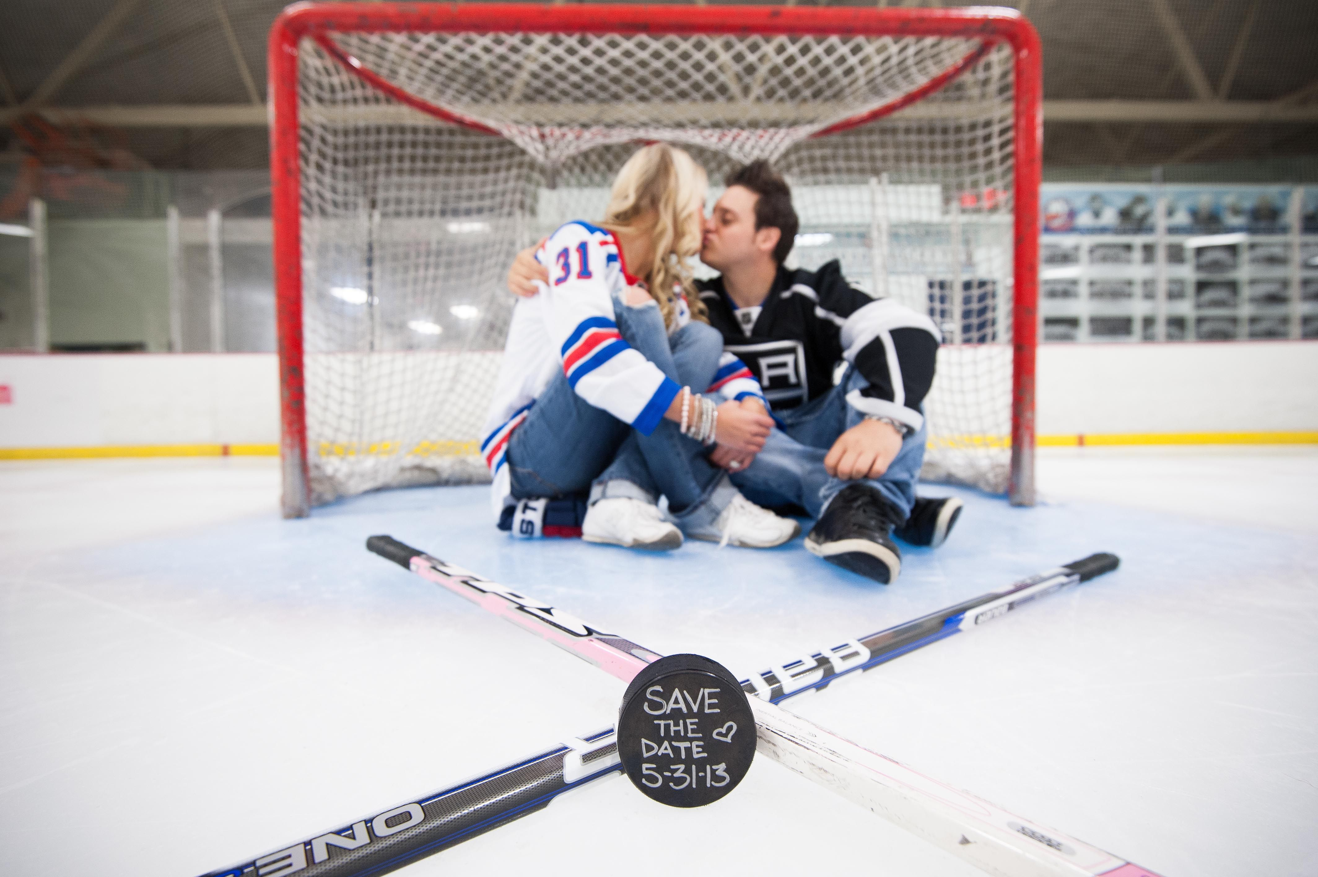 Hockey Love My Engagement Shoot Hockey Engagement Photos Hockey Wedding Hockey Wedding Photos
