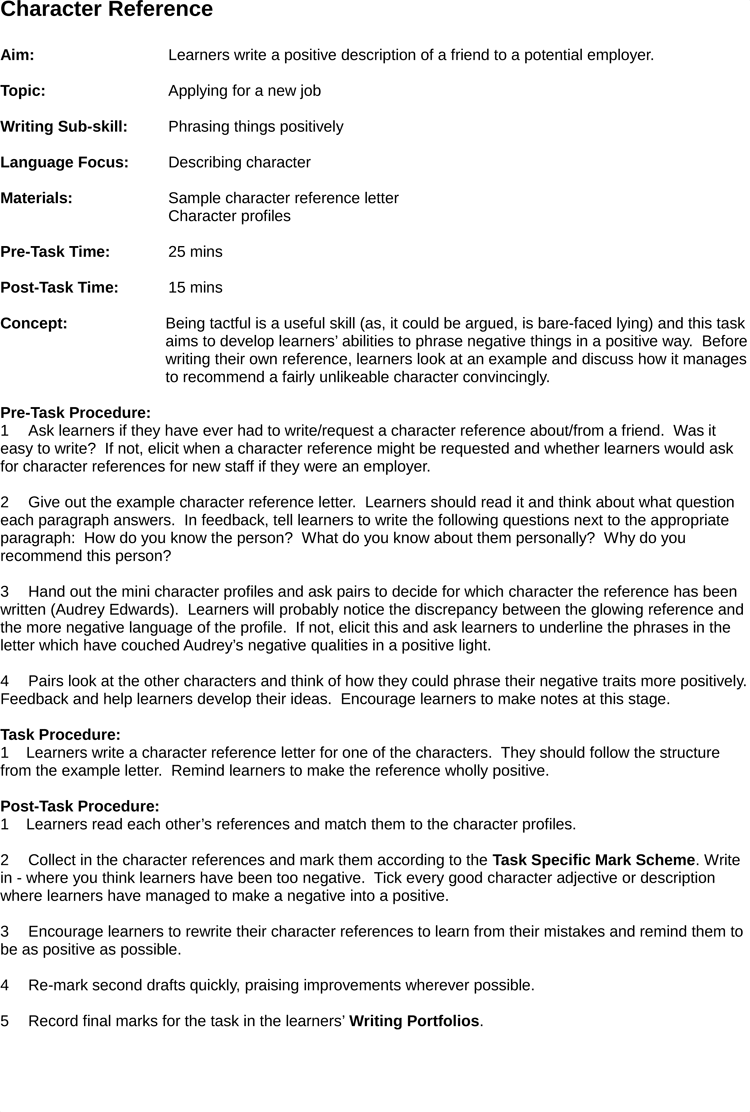 17+ Sample Character Reference Letter (for Court, Judge