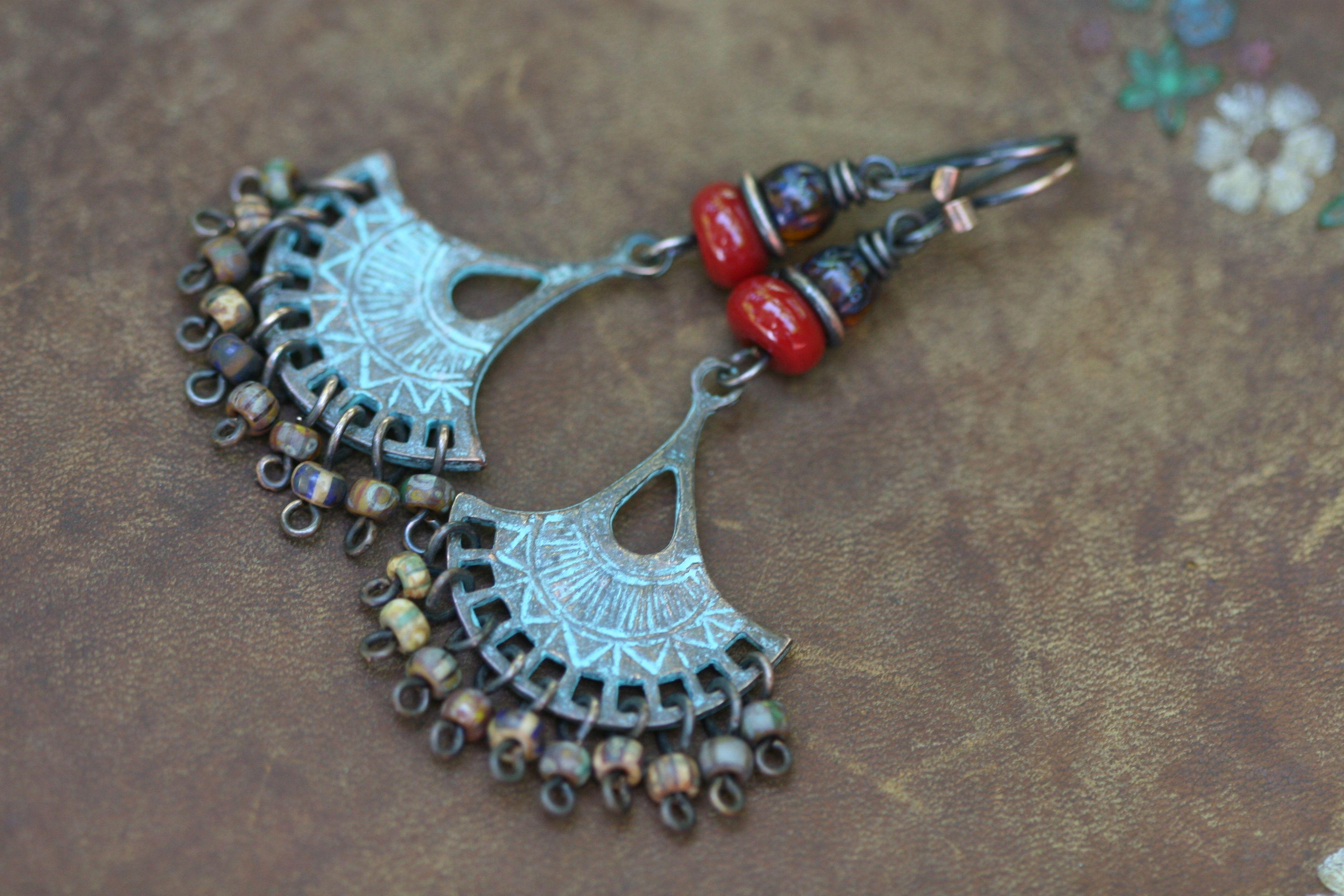 Tribal Bohemian jewelry  at www.tribalis.etsy.com