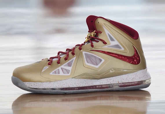 Lebron 10 Florida State Color Scheme