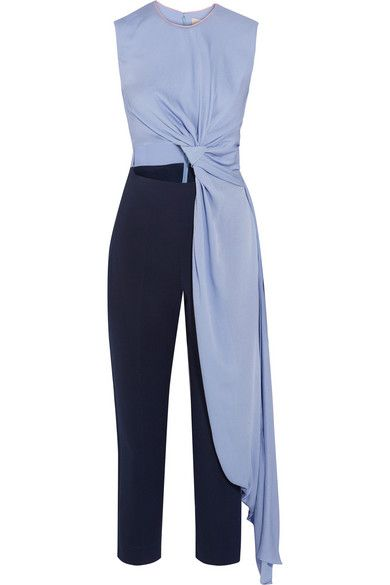 1670819c40c4 ROKSANDA Thurloe Draped Cutout Crepe Jumpsuit.  roksanda  cloth  jumpsuits